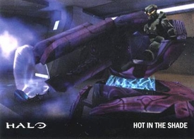 Halo Topps Base Set Single Card #38 Hot in the Shade
