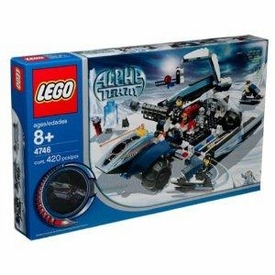 LEGO Alpha Team Set #4746 Mobile Command Center Damaged Package, Mint Contents!