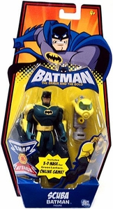 DC Batman Brave and the Bold Action Figure Scuba Batman