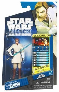 Star Wars 2011 Clone Wars Action Figure CW No. 40 Obi-Wan Kenobi