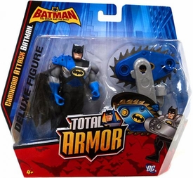 DC Batman Brave and the Bold Total Armor Deluxe Chainsaw Attack Batman