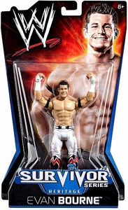 Mattel WWE Wrestling Survivor Series Heritage PPV Series 11 Action Figure Evan Bourne