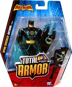 DC Batman Brave and the Bold Total Armor Action Figure Spine Shocker Batman