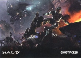 Halo Topps Base Set Single Card #50 Ghost Jacked