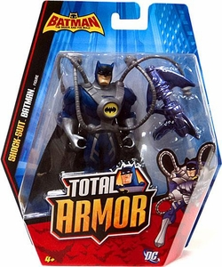 DC Batman Brave and the Bold Total Armor Action Figure Shock-Suit Batman