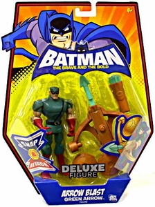 DC Batman Brave and the Bold Deluxe Action Figure Arrow Blast Green Arrow