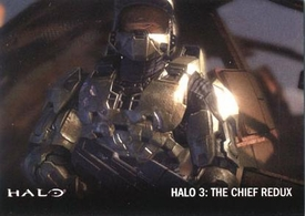 Halo Topps Base Set Single Card #55 Halo 3: Chief Redux