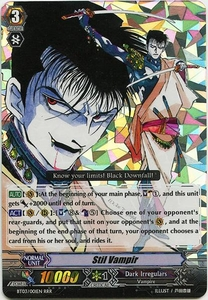 Cardfight Vanguard ENGLISH Demonic Lord Invasion Single Card Triple Rare RRR BT03-001EN Stil Vampir
