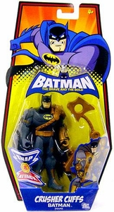 DC Batman Brave and the Bold Action Figure Crusher Cuffs Batman