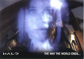 Halo Topps Base Set Single Card #57 The Way the World Ends