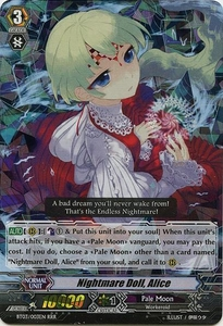 Cardfight Vanguard ENGLISH Demonic Lord Invasion Single Card Triple Rare RRR BT03-003EN Nightmare Doll, Alice