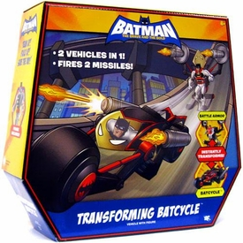 DC Batman Brave and the Bold Vehicle Transforming Batcycle with Batman Figure [Battle Armor to Batcycle]