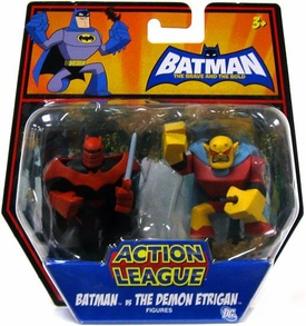 DC Batman Brave and the Bold Action League Mini Figure 2-Pack Batman Vs. The Demon Etrigan