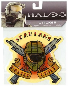 Halo Collectible Sticker Spartans Master Chief