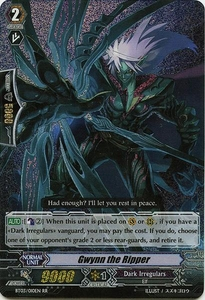 Cardfight Vanguard ENGLISH Demonic Lord Invasion Single Card Double Rare RR BT03-010EN Gwynn the Ripper