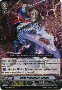 Cardfight Vanguard ENGLISH Demonic Lord Invasion Single Card Double Rare RR BT03-013EN Dusk Illusionist, Robert