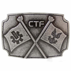 Halo 3 Capture the Flag Belt Buckle