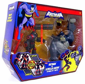 DC Batman Brave and the Bold Action Figure 2-Pack Batman Vs. Gorilla Grodd