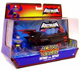 DC Batman Brave and the Bold Action League Mini Figure Set Batman with Batsub