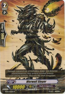 Cardfight Vanguard ENGLISH Demonic Lord Invasion Single Card Rare BT03-022EN Werwolf Sieger