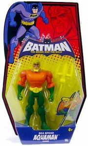 DC Batman Brave and the Bold Action Figure Aquaman [Sea Spear]
