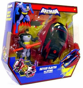 DC Batman Brave and the Bold Vehicle Batsub Blaster with Batman Action Figure