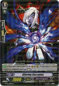 Cardfight Vanguard ENGLISH Demonic Lord Invasion Single Card Rare BT03-024EN Alluring Succubus