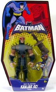 DC Batman Brave and the Bold Action Figure Kanjar Ro [Ray Blaster]
