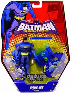 DC Batman Brave and the Bold Deluxe Action Figure Aqua Jet Batman
