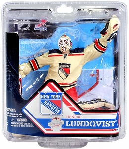 McFarlane Toys NHL Sports Picks Series 32 Action Figure Henrik Lundqvist (New York Rangers) White Jersey