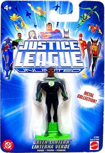 Justice League Unlimited Mini Metal Figure Green Lantern [Blue Card] BLOWOUT SALE!
