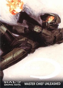 Halo Topps Base Set Single Card #84 Master Chief Unleashed