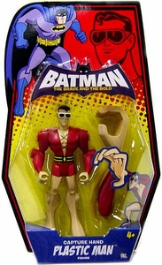 DC Batman Brave and the Bold Action Figure Plastic Man [Capture Hand]