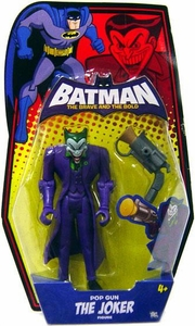 DC Batman Brave and the Bold Action Figure The Joker [Pop Gun]