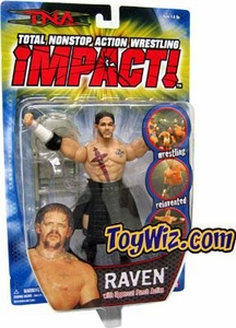 TNA Wrestling Series 1 Action Figure Raven