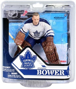 McFarlane Toys NHL Sports Picks Series 32 Action Figure Johnny Bower (Toronto Maple Leafs)
