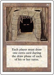 Magic the Gathering Revised Edition Single Card Rare Howling Mine