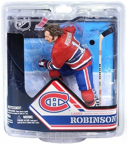 McFarlane Toys NHL Sports Picks Series 32 Action Figure Larry Robinson (Montreal Canadiens) No Trophy