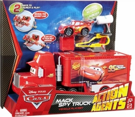 Disney / Pixar CARS 2 Movie Action Agents Playset Mack Spy Truck