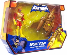 DC Batman Brave and the Bold Vehicle Rocket Blast [Includes Firestorm Figure]