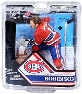 McFarlane Toys NHL Sports Picks Series 32 Action Figure Larry Robinson (Montreal Canadiens) With Trophy Collector Level Only 1,000 Made!