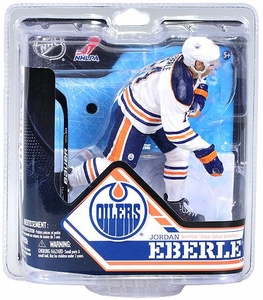 McFarlane Toys NHL Sports Picks Series 32 Action Figure Jordan Eberle (Edmonton Oilers) White Jersey Chase Variant BLOWOUT SALE!