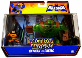 DC Batman Brave and the Bold Action League Mini Figure Set Batman Vs. Chemo