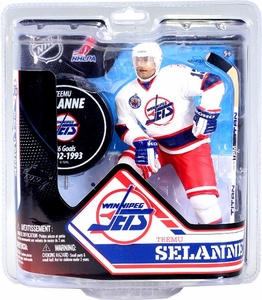 McFarlane Toys NHL Sports Picks Series 32 Canadian Exclusive Action Figure Teemu Selanne (Winnipeg Jets)