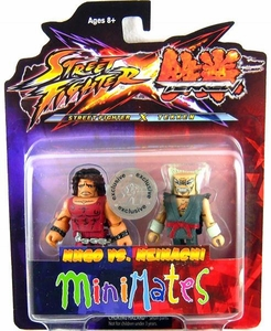 Street Fighter X Tekken Minimates Series 2 Mini Figure 2-Pack Hugo vs Heihachi