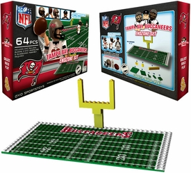 OYO Football NFL Generation 1 Team Field Endzone Set Tampa Bay Buccaneers