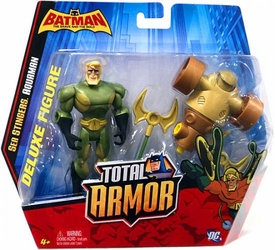 Batman The Brave and The Bold Total Armor Deluxe Figure Sea Stingers: Aquaman