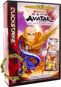 Avatar the Last Airbender Trading Card Game 2-Player Starter Deck Set Master of Elements