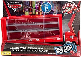 Disney / Pixar CARS Movie Micro Drifters Mack Transporter Rolling Display Case [Store & Display 18 Cars!]