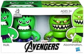 Marvel Avengers Movie Mini Mighty Muggs 2-Pack Hulk & Abomination